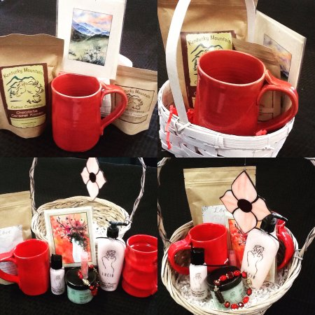 Painted Cow Art Gallery and Unique Gifts: Gift Baskets