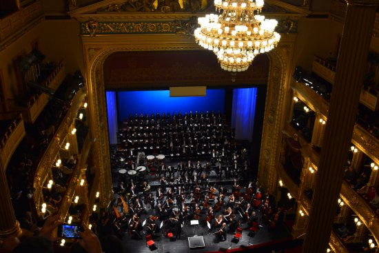 National Theater : Balcony