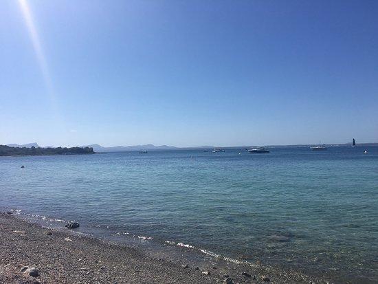 Playa de Aucanada: Gorgeous beach, very quiet and unspoilt! My favourite spot in Mallorca.