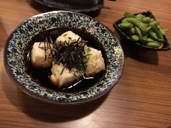 Huo Shao Niao Lzakaya: tofu