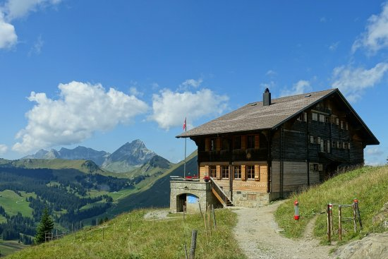 Jaun, Switzerland: Chalet du Soldat (regiment)