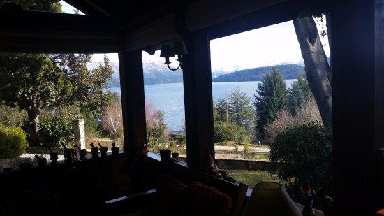 Hosteria Belvedere: vista desde el comedor