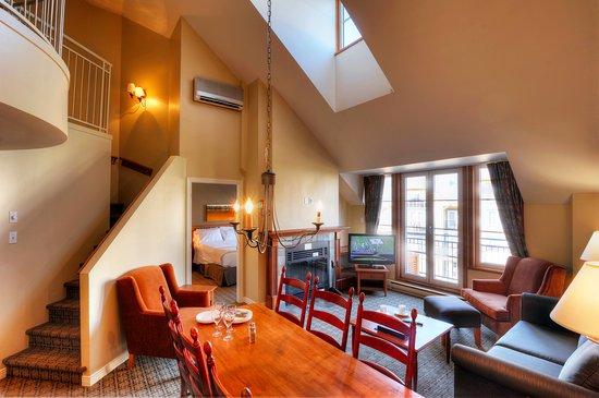 Place St-Bernard: Aire commune - Suite 2 chambres
