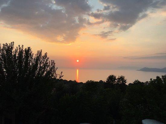 Uzunyurt, Türkei: View from balcony