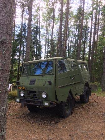 Härnösand, Sverige: military vehicle