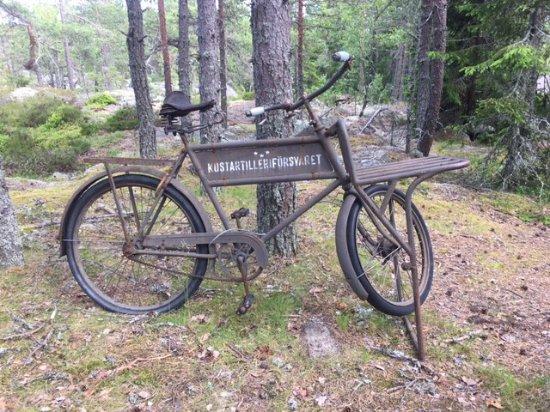 Härnösand, Sverige: Old bike