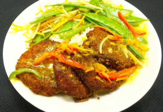 Bowling Green, OH: Thai Eggplant Curry