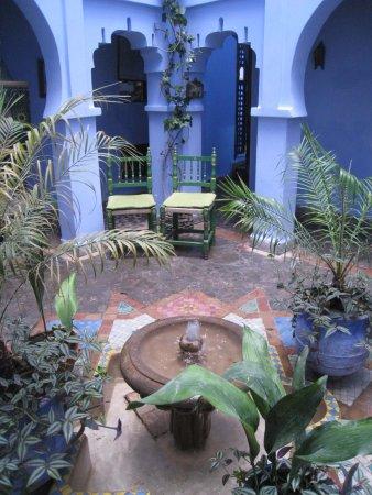 Hotel Riad Casa Hassan Restaurante: The lobby