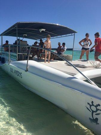 Байяибе, Доминикана: catamaran saona