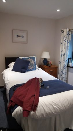 Near Sawrey, UK: Single room bed