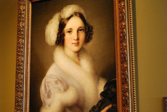 Galerie nationale hongroise : Una bella dama en la Galeria Nacional