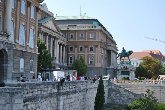 Galerie nationale hongroise : Palacio de Buda