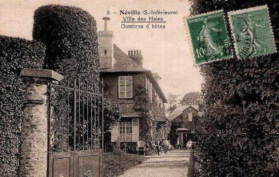 Neville, Frankrijk: Maison d'hôtes datant de 1880
