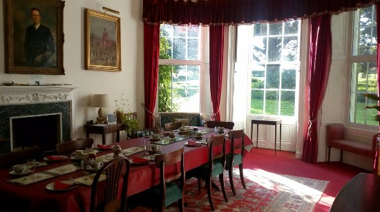 Budle Hall: dining room