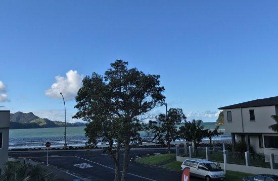 Beachside Resort Whitianga: View from upstairs room