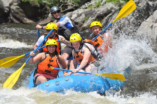 Charlemont, MA: Whitewater Rafting on Zoar Gap - our most popular trip