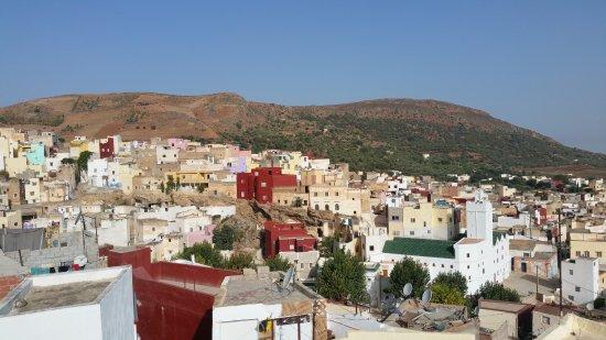 Dar KamalChaoui: Vue sur Bhalil, à partir de la terrasse