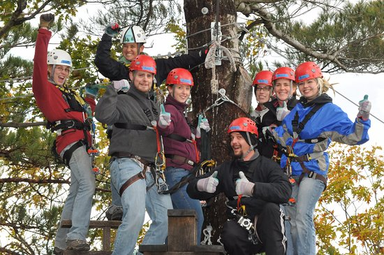 Zoar Outdoor/Deerfield Valley Canopy Tours: Zip Line Canopy Tours connect you to friends and family!