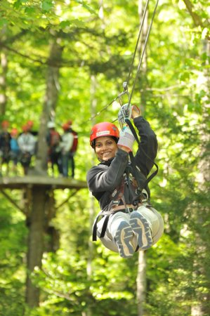 Zoar Outdoor/Deerfield Valley Canopy Tours: There's nothing like the exhilaration of zipping through the trees
