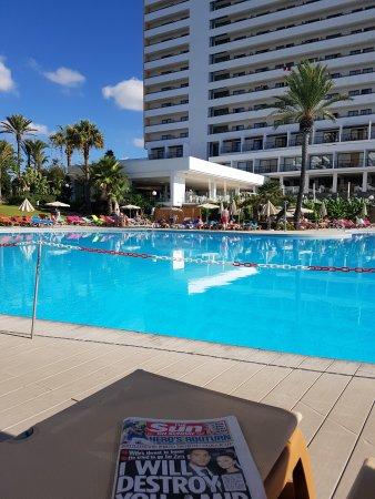 Sol Mirador de Calas All Inclusive: Sun terrace pool and dining