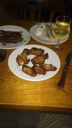 La Galera: alitas de pollo
