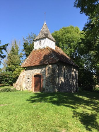 Alfriston, UK: Church of the Good Shepherd, Lullington
