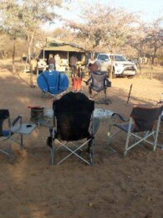 Serowe, Botswana: A fire point