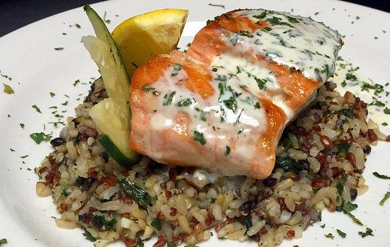 Milwaukee Grill: Fresh Salmon Feature