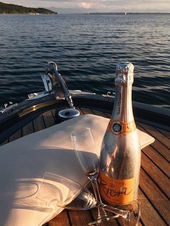 Berg am Starnberger See, Niemcy: Ein schöner Abend am Starnberger See