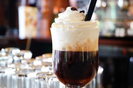Gran Reserva : Irish coffee from our bartenders.