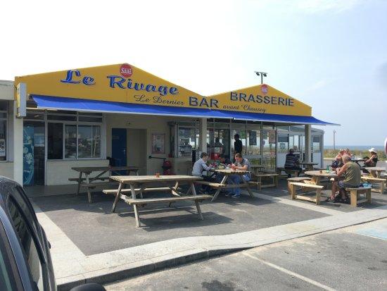 Coudeville-sur-Mer, France: le dernier bar avant Chausey