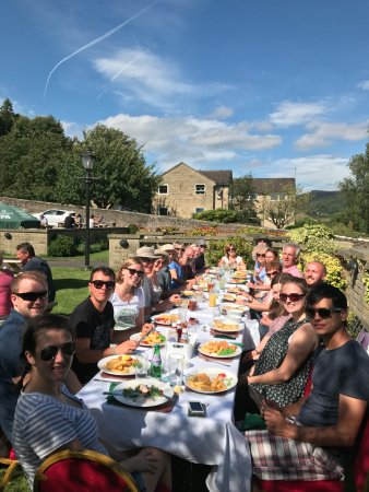 Grindleford, UK: A very happy birthday lunch