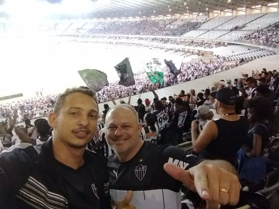 Estadio Governador Magalhaes Pinto: Familia! Galo! Uma vez até morrer!