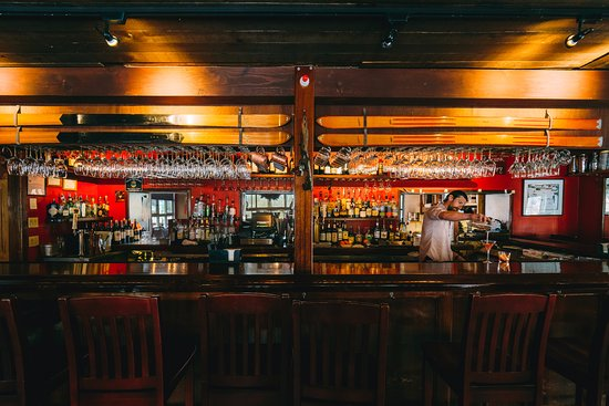 Cottonwood Restaurant: Historic Bar Scene at Cottonwood