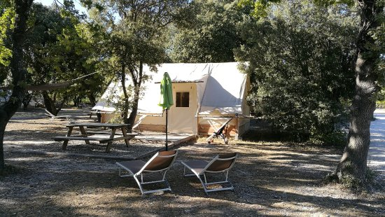 Richerenches, فرنسا: Lodge hutte