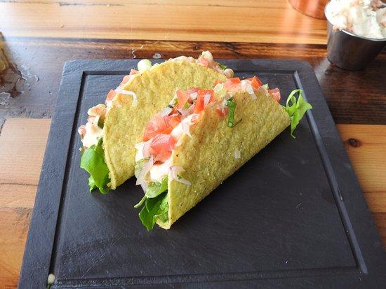 Oulton Broad, UK: Prawn Tacos