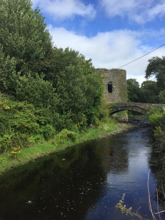A block away - walk to the original Glin Castle