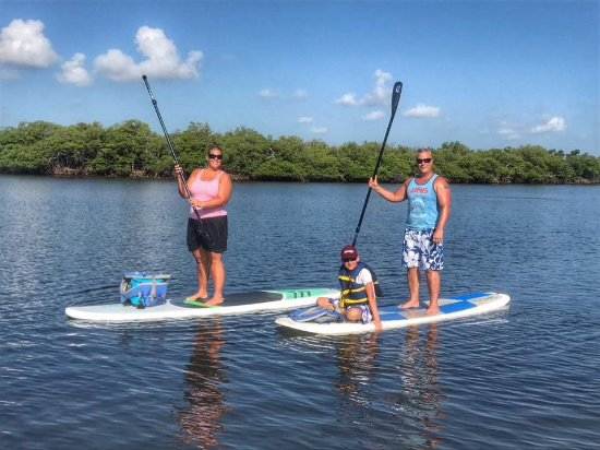 North Palm Beach, FL: Paddles up!
