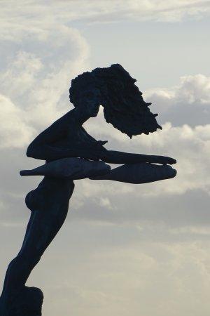 Bogense, Дания: einde pier, waarschijnlijk king neptunes