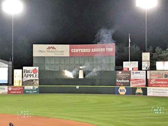 Hadlock Field : Fireworks for the win!