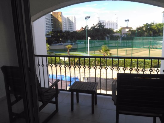 An exceptionally clean Hotel and very spacious rooms with excellent views and amenities.