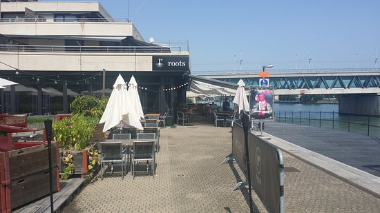 Roots restaurant (located near the river Rhine in Basel, Switzerland)