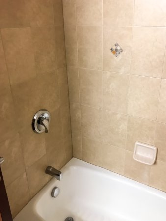 Holiday Inn Express Hotel & Suites Moab: Spotless Shower Over Tub