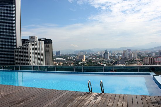 Somerset Ampang Kuala Lumpur: View from the roof top pool