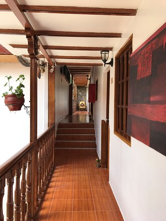 Hotel Rumi Punku: corridors in hotel
