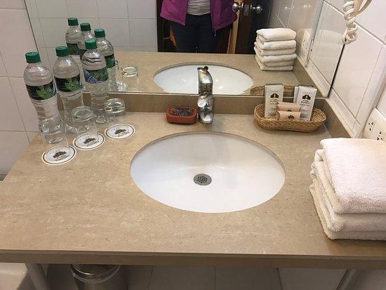 Hotel Rumi Punku: bathroom