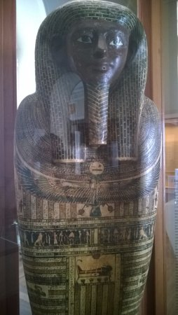 National Museum: Sarcófago egípcio