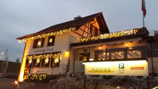 Bauhaus Weihnachtsbeleuchtung.Restaurant Hanegg Mit Weihnachtsbeleuchtung Picture Of