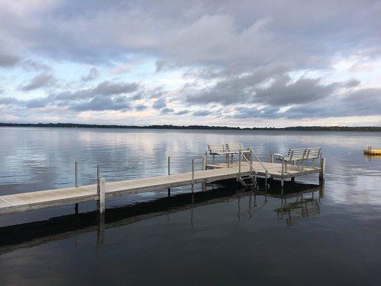 Alexandria, MN: Lake Mary, dock