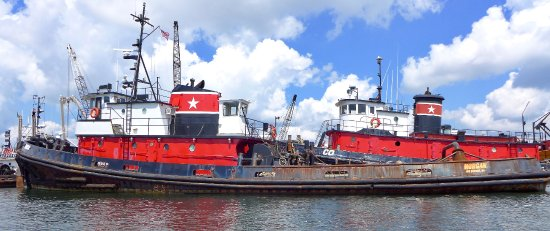 Whaling City Expeditions: Tugs - New Bedford Harbor
